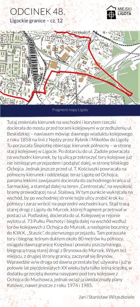 Fragment mapy Ligoty