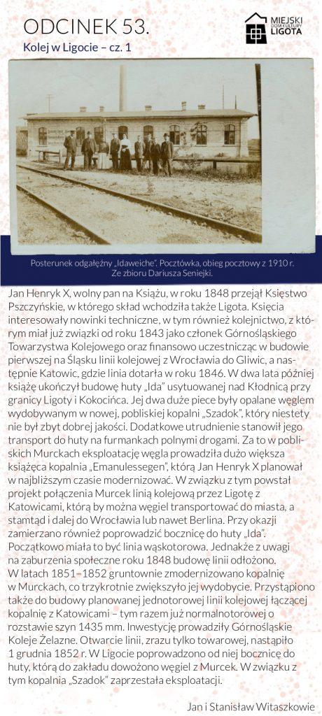 """Posterunek odgałęźny """"Idaweiche"""". Pocztówka, obieg pocztowy z 1910 r. Ze zbioru Dariusza Seniejki."""